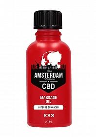 CBD from Amsterdam the Original - Intense Massage Oil Enhancer