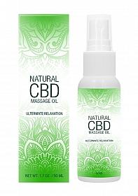 Natural CBD -  Massage Oil - 50 ml