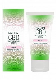 Natural CBD -  Masturbation Cream For Her - 50 ml