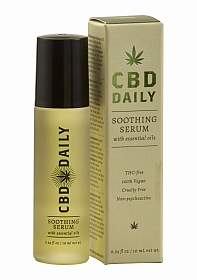 CBD Daily Soothing Serum Roller Ball - 0.34 oz / 10 ml