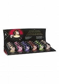 Display with 24 small candles Mini Massage Candle - 30 ml
