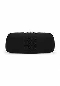 LOVE Medium Storage Bag - Black
